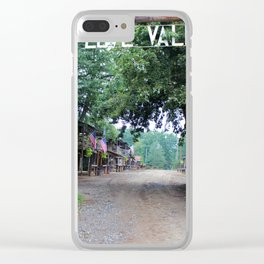 Town Of Love Valley Clear iPhone Case