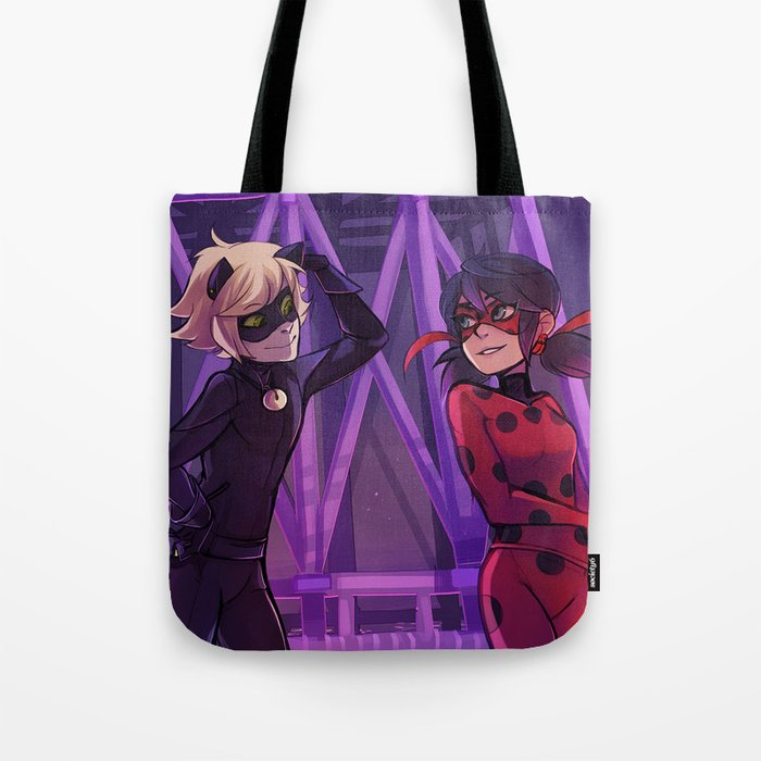 Meeting at the Tower Tote Bag