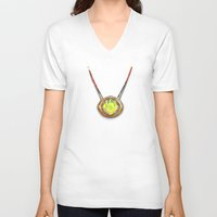 enerjax V-neck T-shirts featuring Eye of Agamotto by enerjax