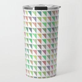 edge of autumn geometric pattern Travel Mug