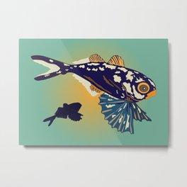 Ocean Fish Metal Print