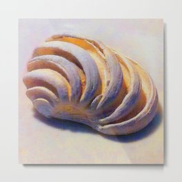 Imperial Venus Sea Shell Metal Print