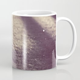Grounded Snow At Midnight Coffee Mug