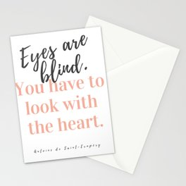 Eyes Are Blind Stationery Cards