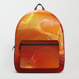 Flammende Liebe - Flaming Love Backpack