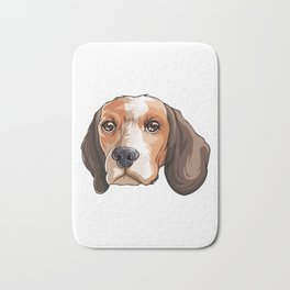 Beagle Funny Pet Puppy Dog Lover Bath Mat