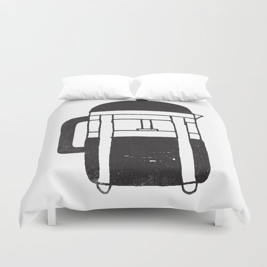 FRENCH PRESS Duvet Cover