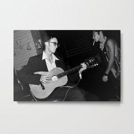 Omni - The Guitar Man and Vagabond Metal Print