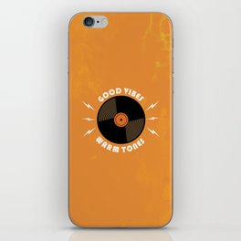Good Vibes and Warm Tones iPhone Skin
