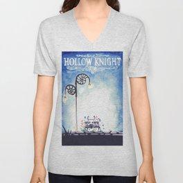 Hollow knight poster Unisex V-Neck