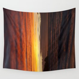 When the sky turns Wall Tapestry
