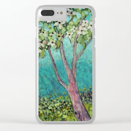 Over There Clear iPhone Case