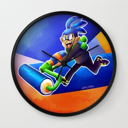 it's about squids my dude Wall Clock