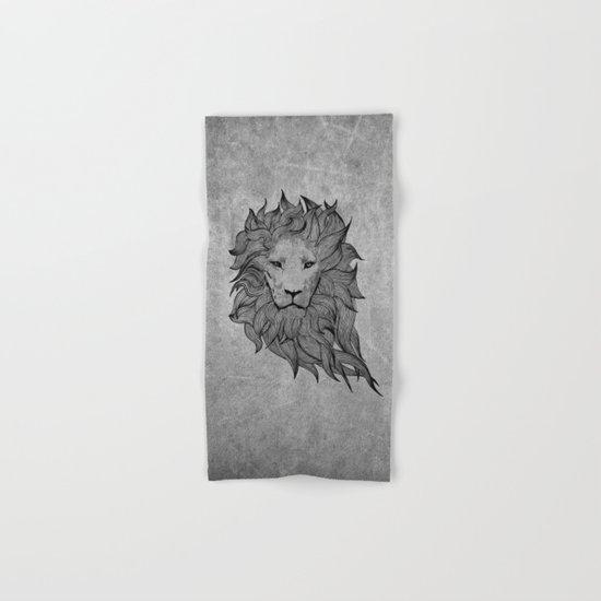Grey Lion Hand & Bath Towel