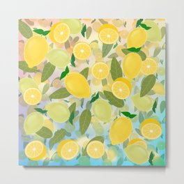 Lemon Song Metal Print