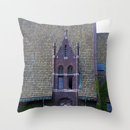 Old West End Mary Manse College Auditorium aka Lois Nelson Theater III Throw Pillow