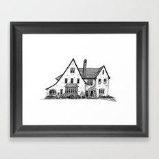 Harriet House I Framed Art Print