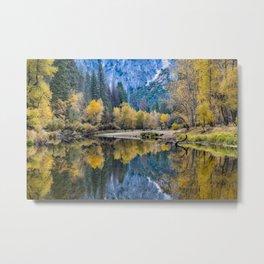 Yosemite Fall Colors  11-1-18 Metal Print