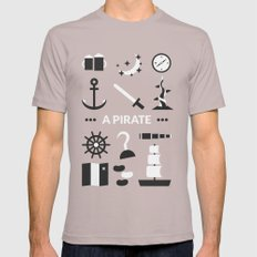 OUAT - A Pirate SMALL Cinder Mens Fitted Tee