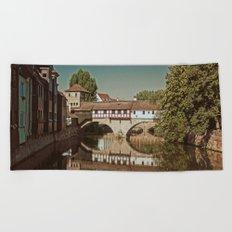 Romantic Nuremberg Beach Towel