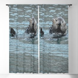 Sea Otter Fellow Blackout Curtain