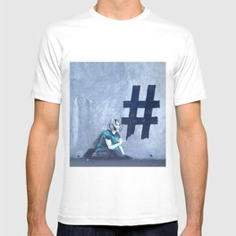 Grafitti # diese girl T-shirt