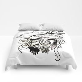 Whacky Face Comforters