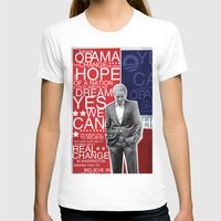 obama T-shirts featuring Barack Obama by kaseysmithcs