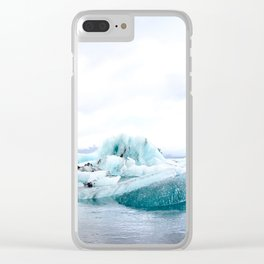 jökulsárlón Clear iPhone Case