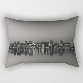 Porto in Black and White Rectangular Pillow
