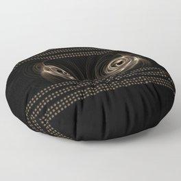 Abstract 17 001j Floor Pillow