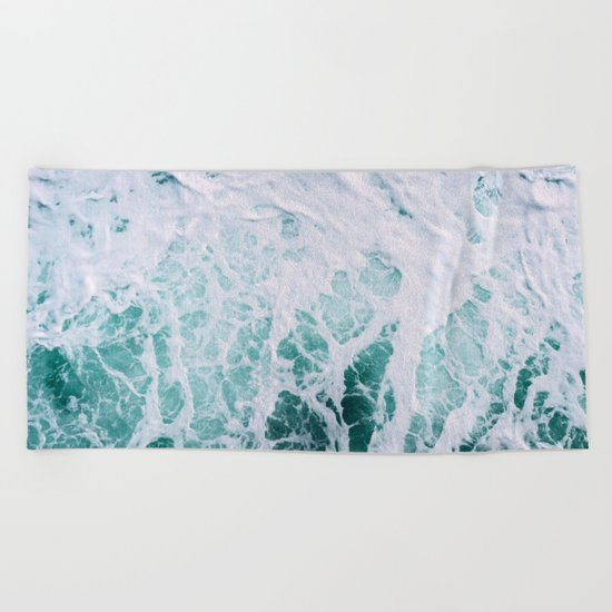 Ocean Splash III Beach Towel