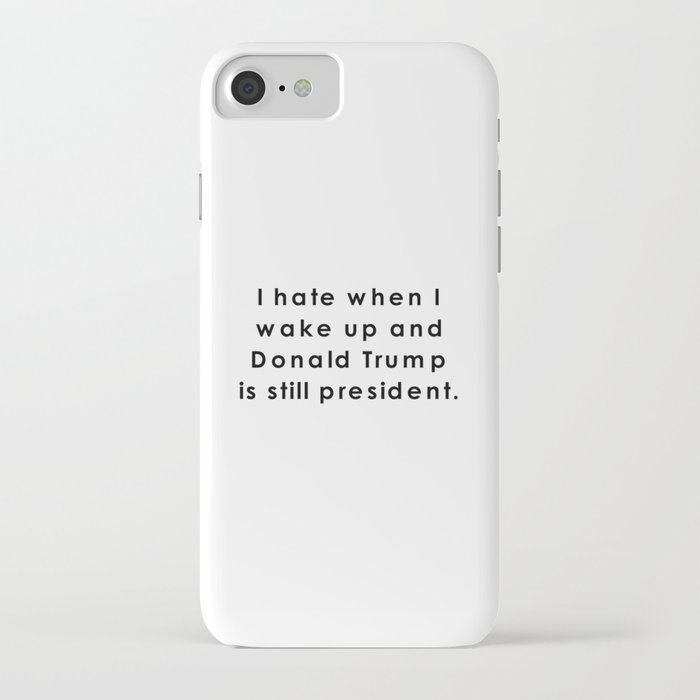still donald trump iphone case