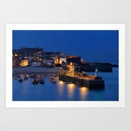 St Ives, Cornwall Art Print
