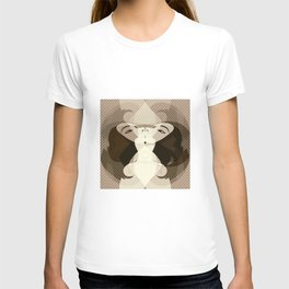 A red-haired woman - Abstrac29 T-shirt