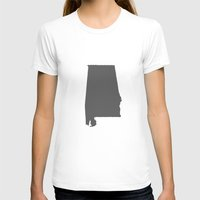 alabama T-shirts featuring Alabama Line by Beastie Toyz