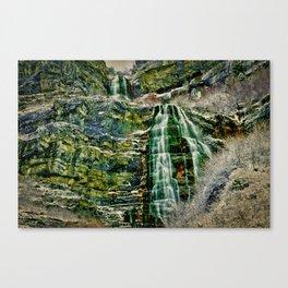HDR Falls Canvas Print