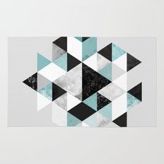 Graphic 202 Turquoise Rug