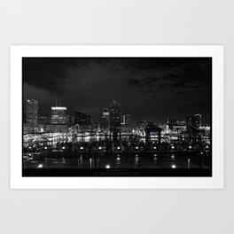 BALTIMORE CITY Art Print