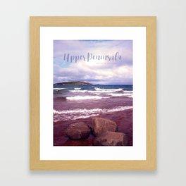 Upper Peninsula Framed Art Print