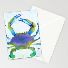 Colorful Crab Stationery Cards