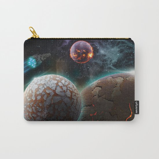 Deep Space Flare Carry-All Pouch