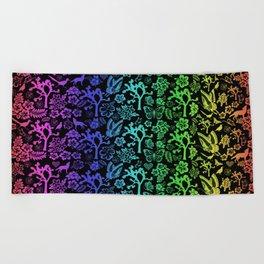 Joshua Tree Colores By CREYES Beach Towel