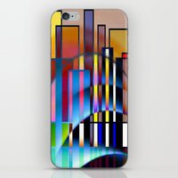 seattle iPhone & iPod Skins featuring Seattle by Kristine Rae Hanning