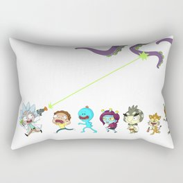Rickandmorty Rectangular Pillow
