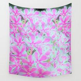 Peppermint Twist Garden Phlox Petals Wall Tapestry