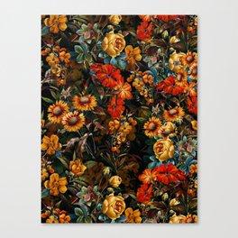 Midnight Garden VII Canvas Print