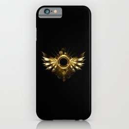 Mechanical Wings ( Steampunk Wings ) iPhone Case
