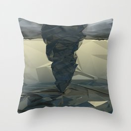 Twisted Tides Throw Pillow