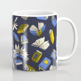 Spellbooks, blue Coffee Mug